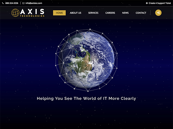 Axis Technologies Website