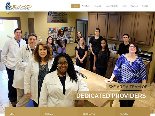 Bridlewood Website