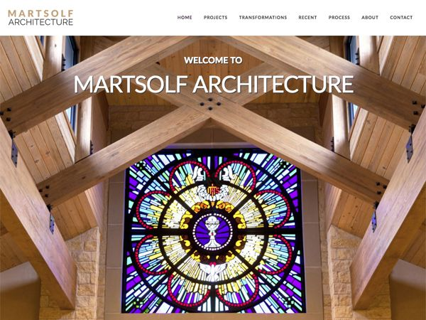 Martsolf Architecture Website