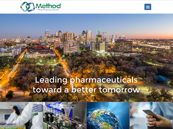 Method Pharmaceuticals Website