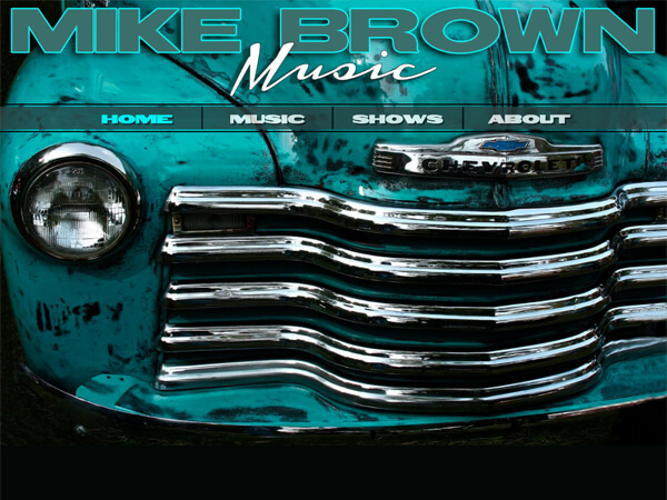 Mike Brown Music Website