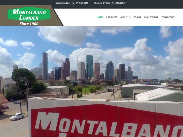 Montalbano Lumber Website